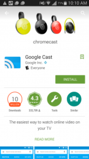 Google Cast App for Android