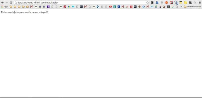 Chrome notepad2