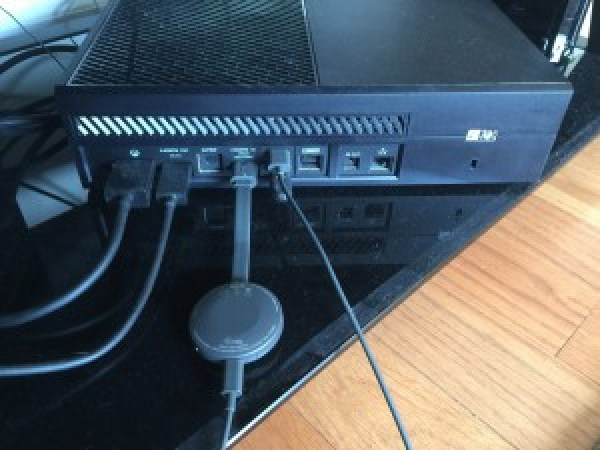 Chromecast using USB for power