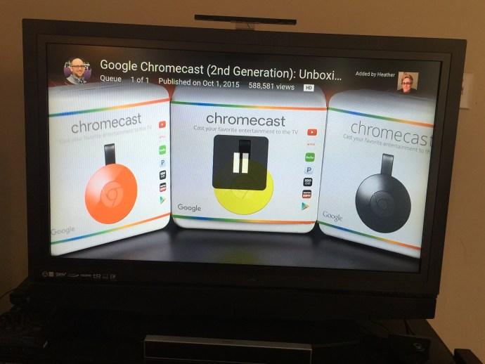 Chromecast Fullscreen