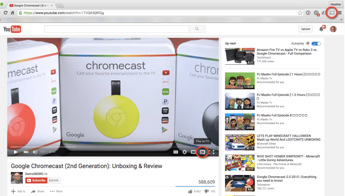 Full Screen Chromecast with Chrome