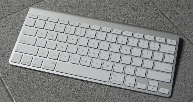 OS X keyboard