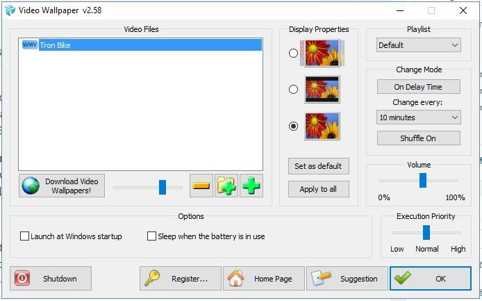 Add Movie Wallpaper HD v2.0 MacOSX