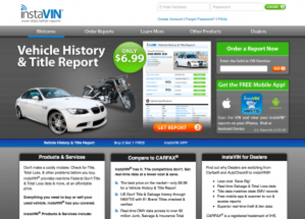 Free Car History Report >> Motosnoop Vin Vin Car History Best Car News And Update