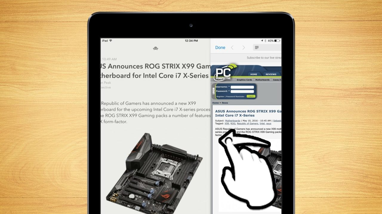 How to Disable Slide Over Multitasking on the iPad