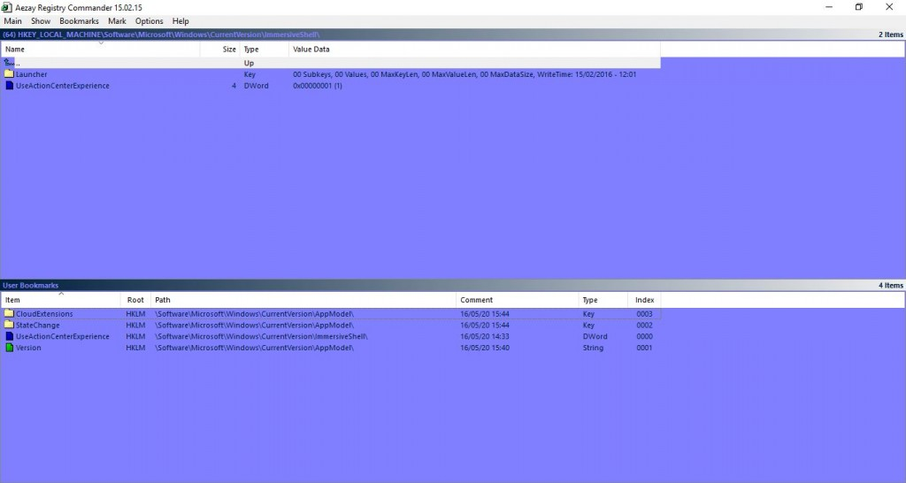 Add a new Registry Editor to Windows 10 registry editor7