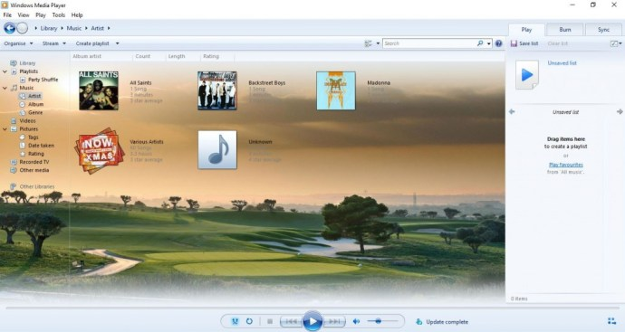 windows media player10