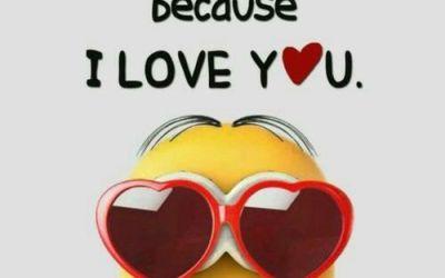 joyful love minion