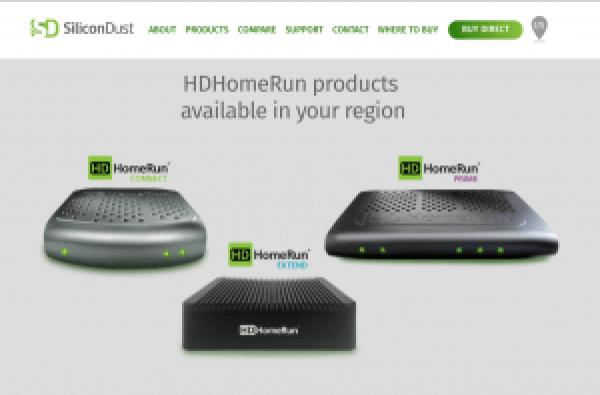 HDHomeRun box