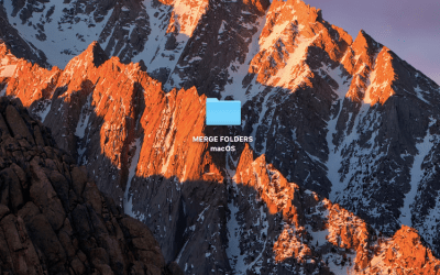 Merge Folders macOS