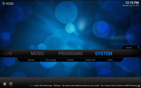 System KODI