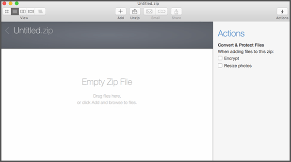 how to open a zip password protected file mac