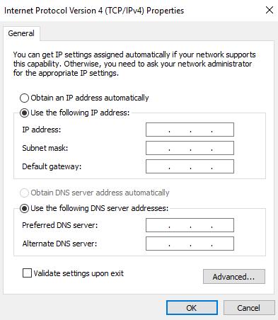 Use server ip
