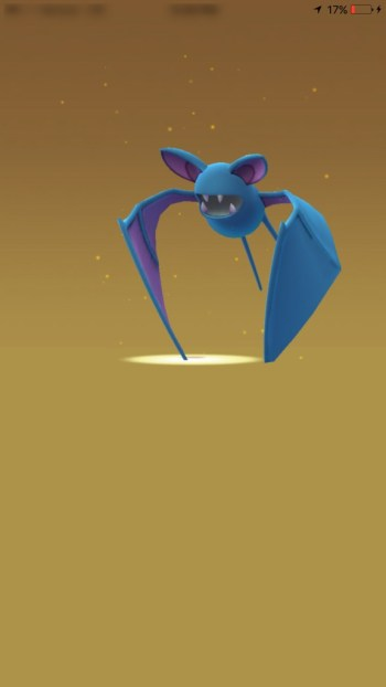 Hatched Pokemon Egg Zubat