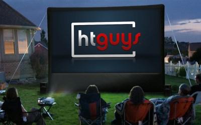 ht guys backyard projector
