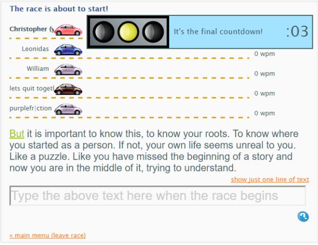 improvetyping-racer