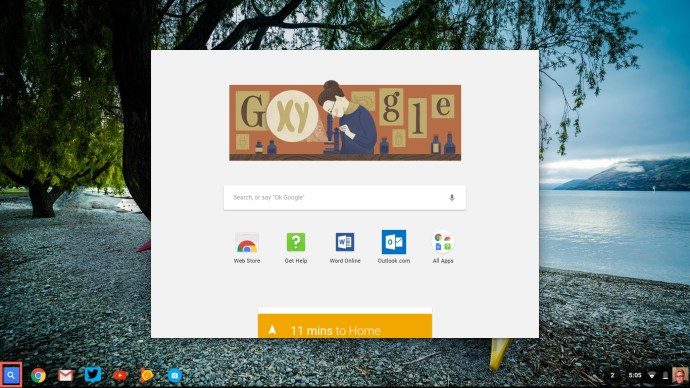 Launcher Chrome OS