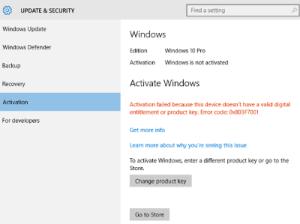 Windows Update error 0x80240017