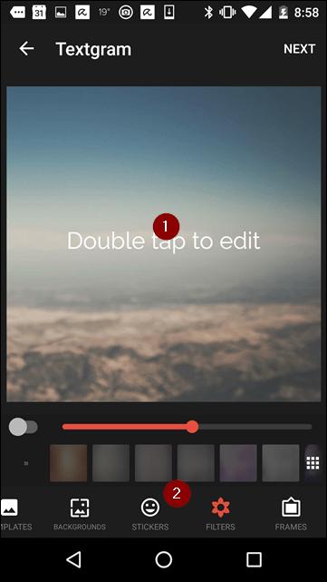textgram_options