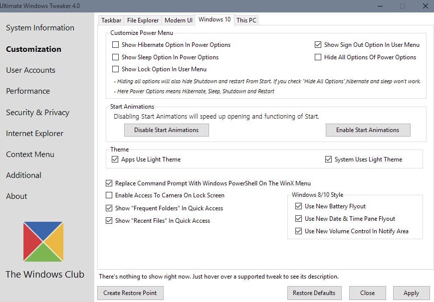 How To Use Ultimate Windows Tweaker 4 To Make Windows 10 Faster