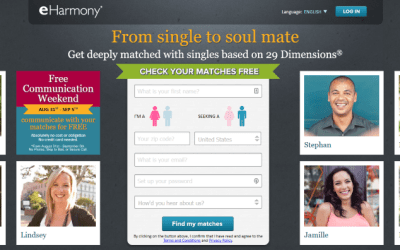 difference between match com and eharmony
