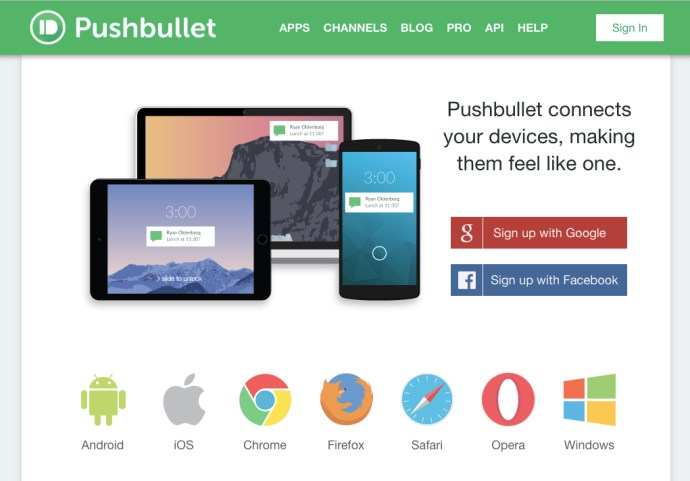 Pushbullet vs  mighty text