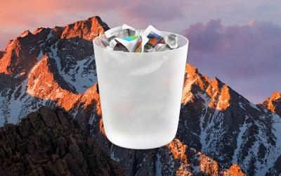 sierra empty trash