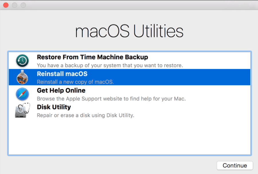 How to erase macbook pro back to factory settings