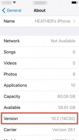 iPhone version