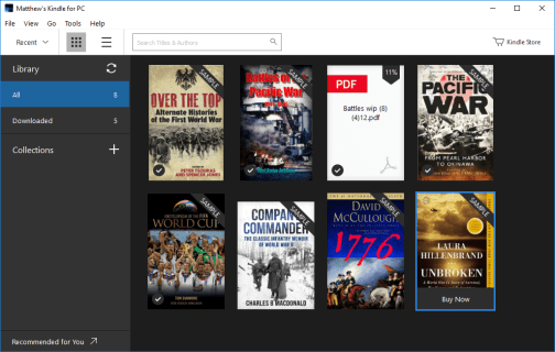 kindle software for pc
