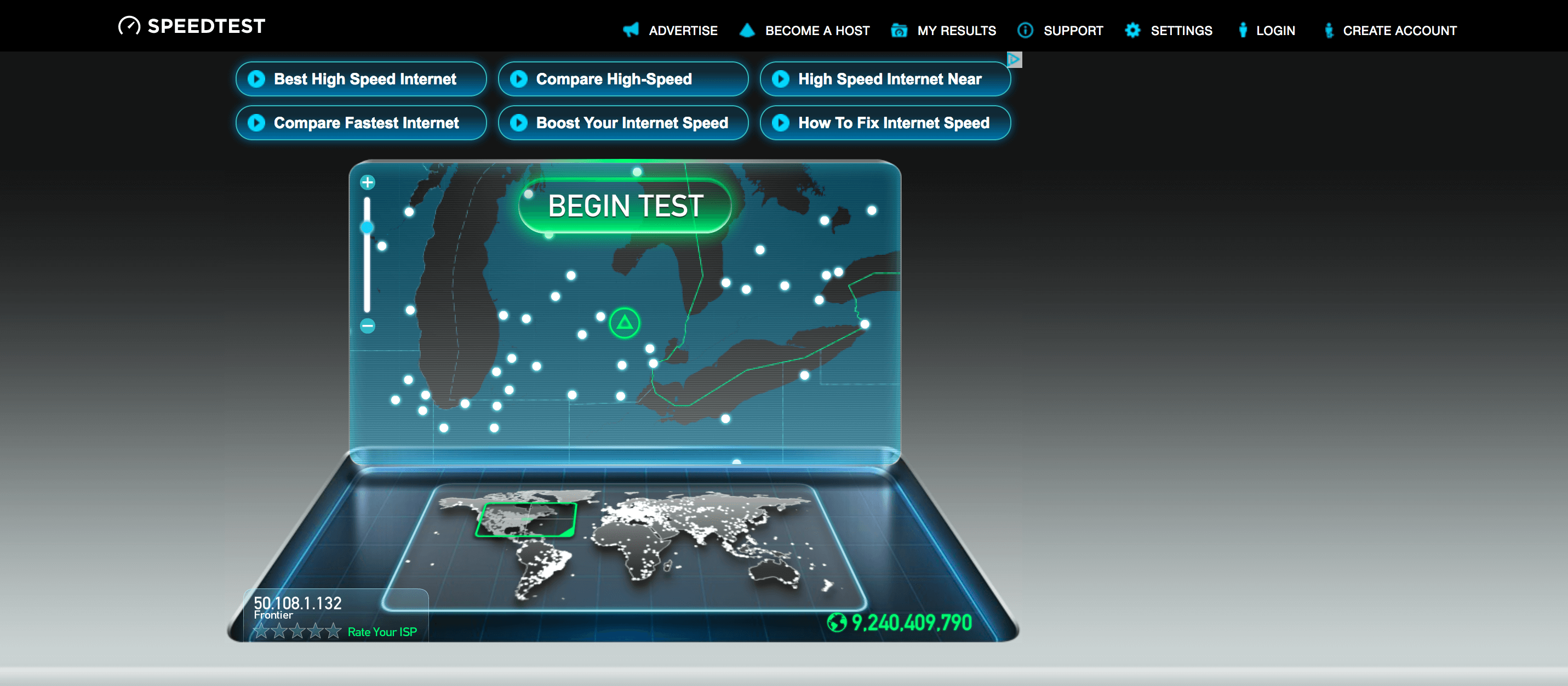 Frontier Speed Test >> How To Test Your Internet Speed