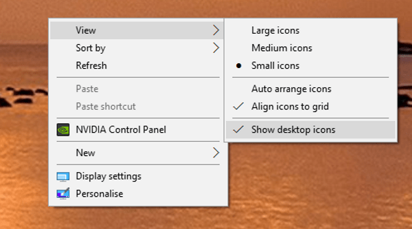 How to add Windows 10 desktop icons-2