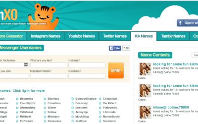 Generating Funny Kik Usernames