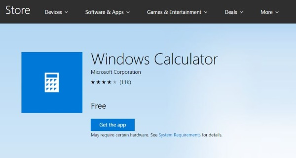 What to do if the calculator won't start in Windows 10-3