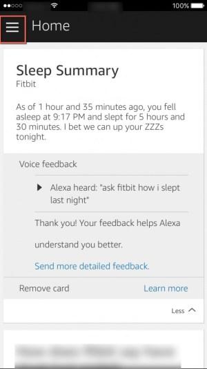Alexa Home Screen