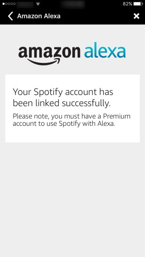 Alexa and Spotify