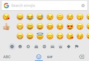 Emoji search