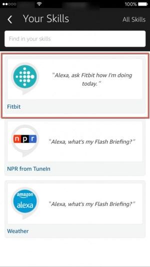 Fitbit Skills