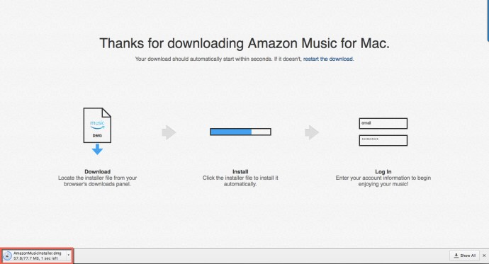 Amazon Music Installer