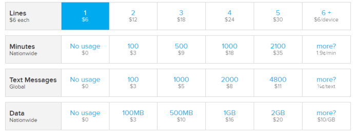 ting price examples