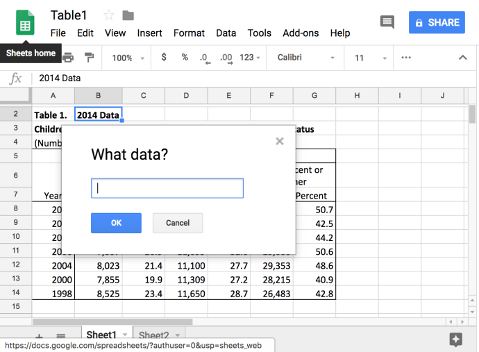 How To Link Data to Another Tab in Google Sheets