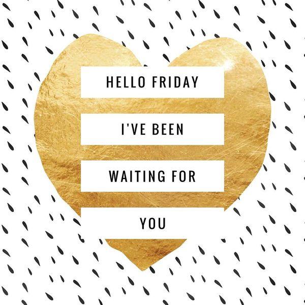Привет, пятница, я ждал