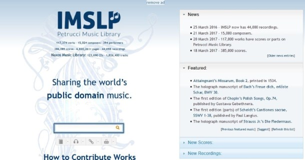 Where To Download Free and Legal Piano Sheet Music