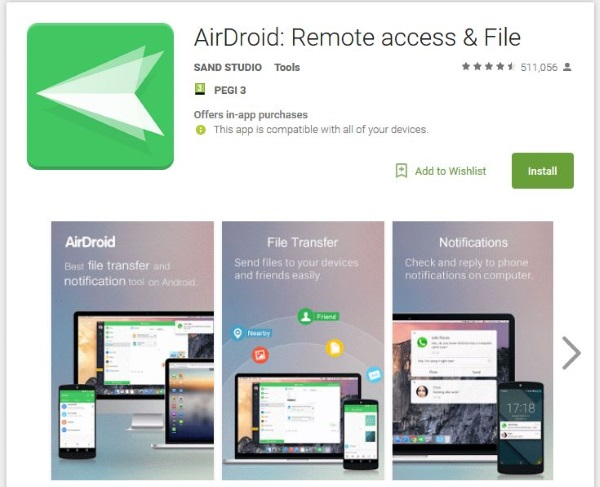 How to control Android from a PC with AirDroid3
