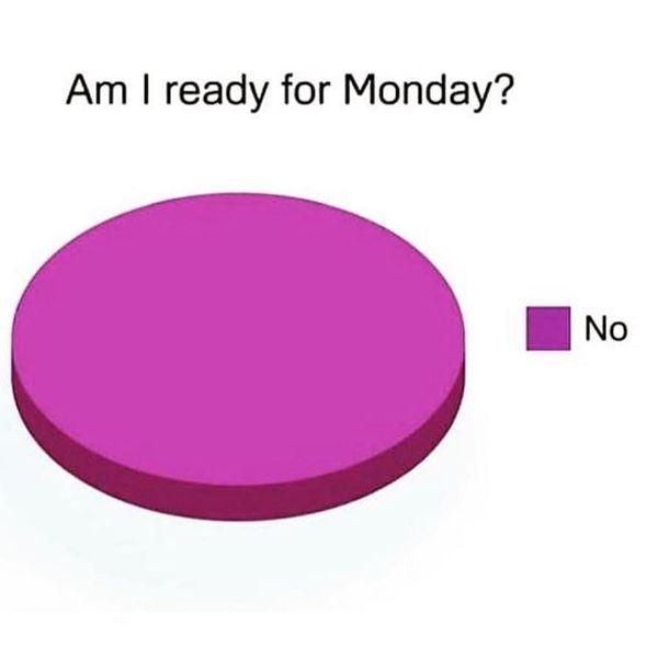 я готов к понедельнику
