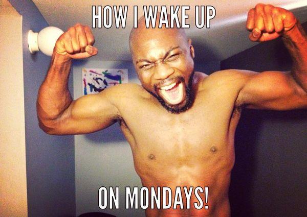как я просыпаюсь по понедельникам
