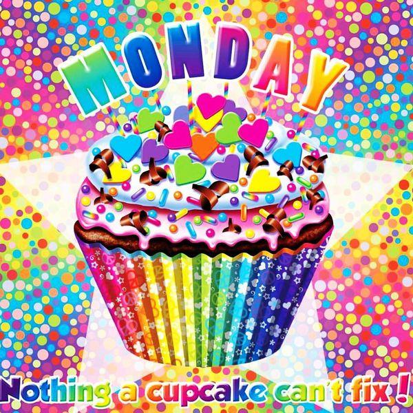 monday cupcake