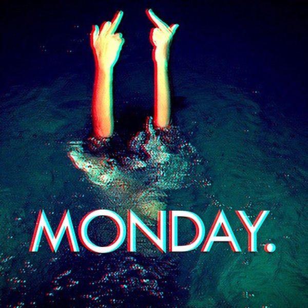 понедельник утонуть
