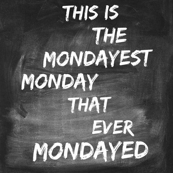 это понедельник понедельник