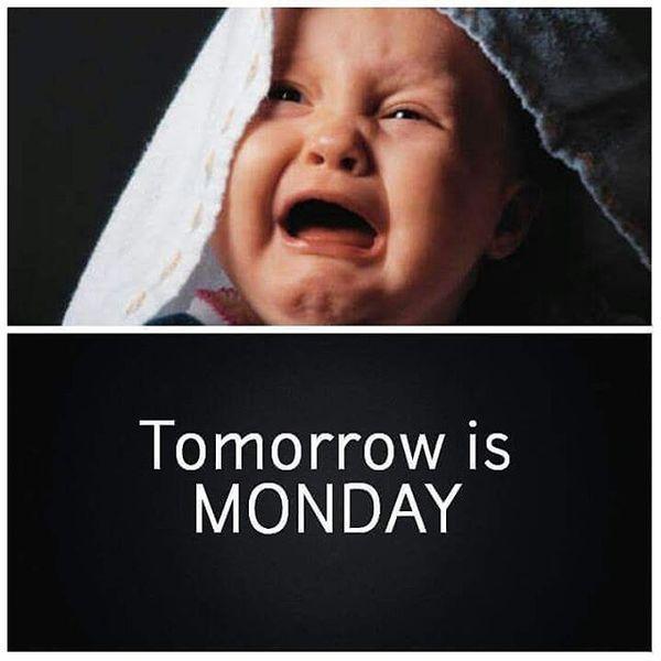 завтра понедельник